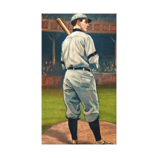 Wildfire Schulte, Chicago Cubs, 1911 Canvas Print