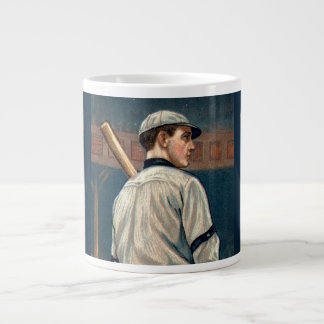 Wildfire Schulte, Chicago Cubs, 1911 Large Coffee Mug