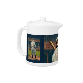 Wildfire Schulte, Chicago Cubs, 1911 Teapot
