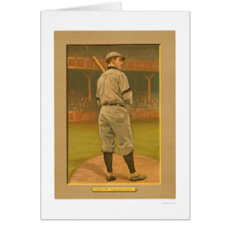 Wildfire Schulte Cubs Baseball 1911 Greeting Card