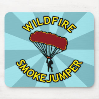 Wildfire Smokejumper Mouse Pad
