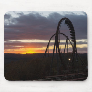 Wildfire Sunset Mouse Pad