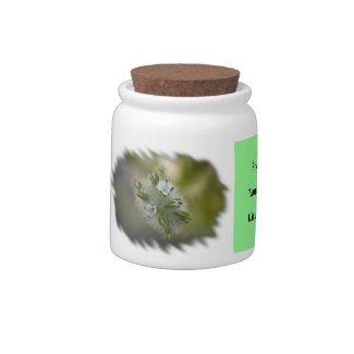 Wildflower 1 Candy Jar candyjar