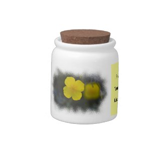 Wildflower 2 Candy Jar candyjar
