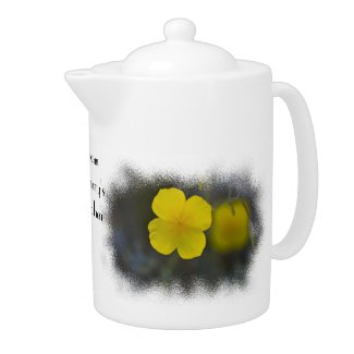 Wildflower 2 Teapot teapot