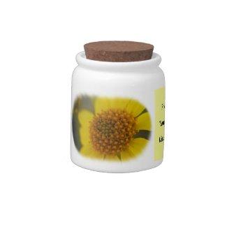 Wildflower 3 Candy Jar candyjar