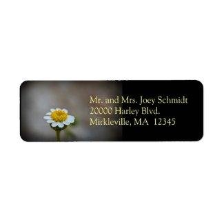 Wildflower 3 Return Address Label label