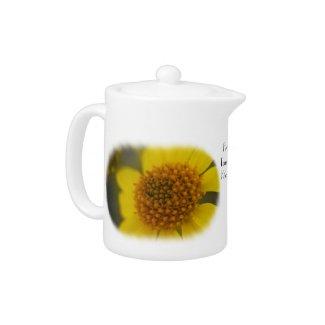 Wildflower 3 Teapot teapot