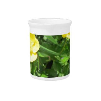 Wildflower amarillo jarra
