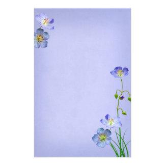 Wildflower azul en el boda azul  papeleria
