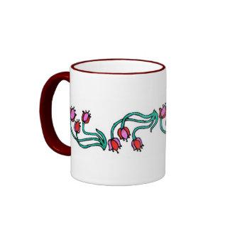 Wildflower Banded Mug