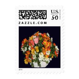 Wildflower Basket Postage Stamps