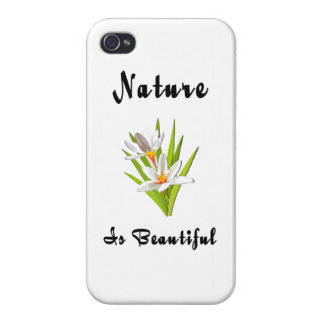 Wildflower Beauty Case For iPhone 4