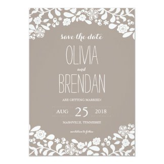 Wildflower Blossoms | Save the Date Invitation