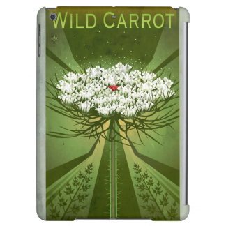 Wildflower Botanicals: Queen Anne's Lace Case For iPad Air