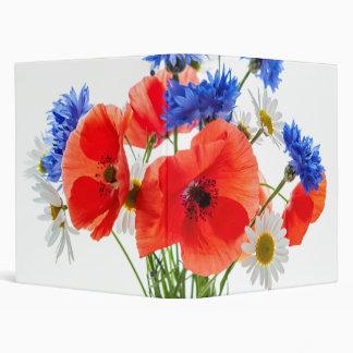 Wildflower bouquet binder