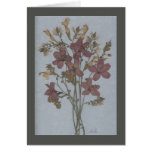 Wildflower bouquet greeting cards