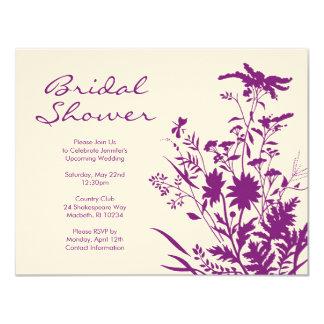 Wildflower Bridal Shower Invitation