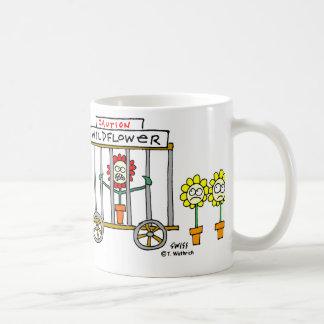 Wildflower Cartoon Funny Gardener Novelty Mug