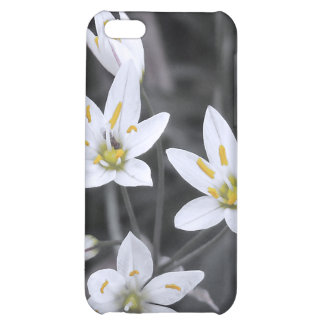 Wildflower Cluster Macro Photo BW/Color speck case iPhone 5C Case