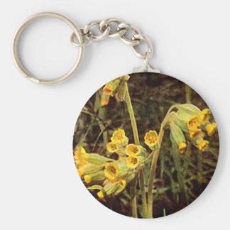 Wildflower: Cowslip Keychain