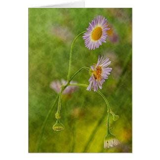 Wildflower de Georgia Tarjeta De Felicitación