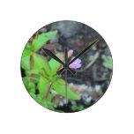 Wildflower de la botánica de la flor de la flora d relojes