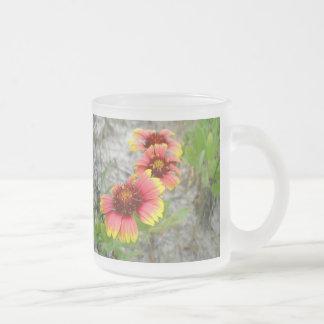 Wildflower de la flor combinada del Gaillardia Taza De Cristal