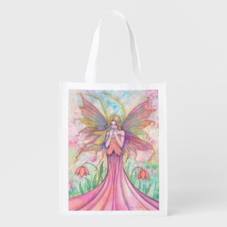 Wildflower Fairy Fairy Fantasy Art Shopping Bag