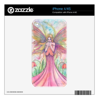 Wildflower Fairy Fantasy Art iPhone Skin Skin For iPhone 4S