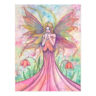 Wildflower Fairy Postcard