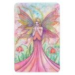 Wildflower Fairy Vinyl Large Magnet