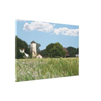 Wildflower Farm, Canvas