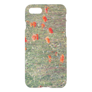 Wildflower Field and Red Poppies Blooming iPhone 8/7 Case
