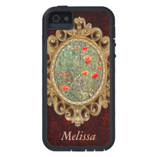 Wildflower Field and Red Poppies Blooming iPhone SE/5/5s Case
