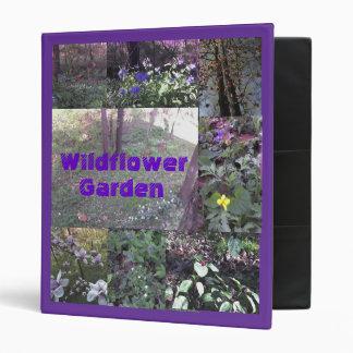 Wildflower Garden Vinyl Binder