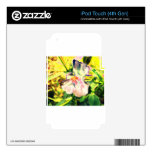 Wildflower Impressions Decals For iPod Touch 4G