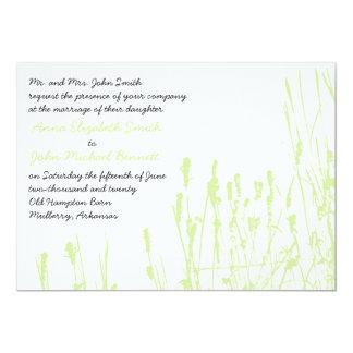 Wildflower - invitación del boda de la ligamaza