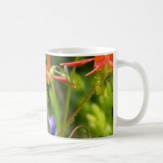 Wildflower Iris and Columbine mug