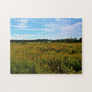 Wildflower Meadow Jigsaw Puzzle
