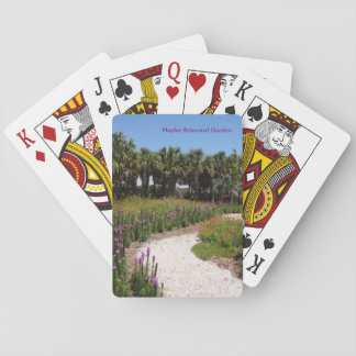 Wildflower Meadow Naples Botanical Garden Florida Playing Cards