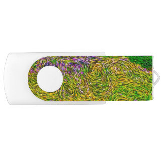 Wildflower Meadow Van Gogh Style Flash Drive