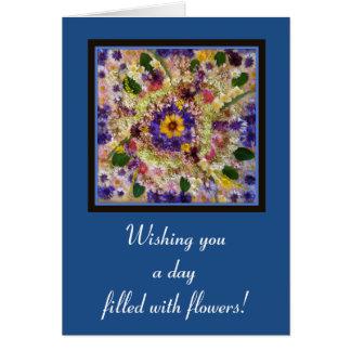 Wildflower Mosaic Card