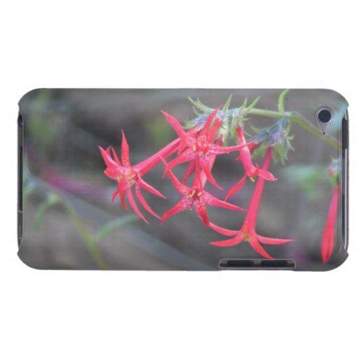 Wildflower negro de la botánica de la flor de la f iPod touch Case-Mate carcasa