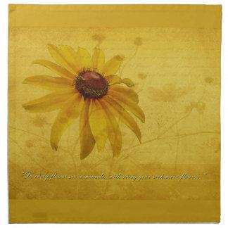 Wildflower Negro-Observado y cita de Susan Servilleta
