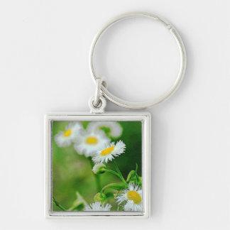 Wildflower photo keychain