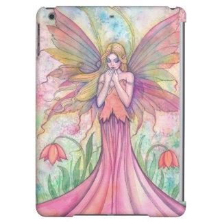 Wildflower Pink Flower Fairy Fantasy Art iPad Air Case
