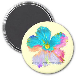 Wildflower pintado #2 iman de nevera