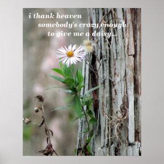 Wildflower Poster - 16 x 20