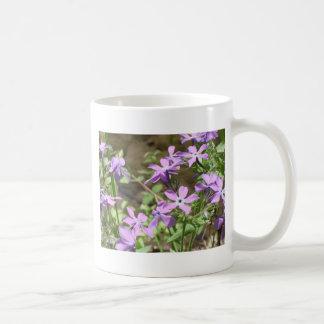 Wildflower- Purple Flowers Coffee Mug